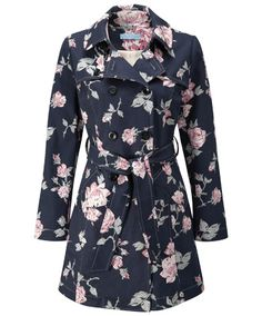 LJ164 - Marvellous Floral Mac  - Marvellous Floral Mac, Women's Coats and Jackets, Womens Clothing, Clothing, Accessories, Joe Browns