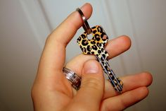 SO getting this key for my first house! I'm obsessed with leopard print! Leopard Fashion, Animal Print Fashion, Fashion Prints, Animal Prints, Motif Leopard, Cheetah Print, Leopard Prints, Cheetah Dress, My Favorite Color
