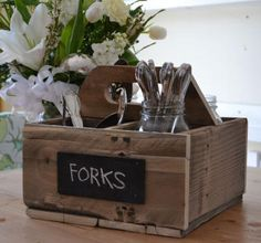 Ana White | Build a Reclaimed Soda Crate Caddy | Free and Easy DIY Project from reclaimed pallet pieces