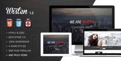 Wisten - Wordpress One Page Parallax Theme by FastWP WordPress 4.1 Ready Wisten is a 100 responsive Wordpress One Page template. Wisten is perfect for creative agencies, digital stud