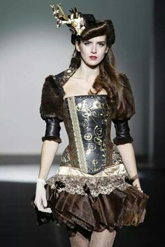Steampunk on the catwalk