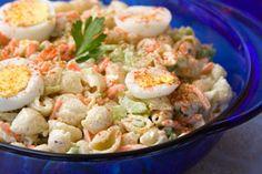 Pennsylvania Dutch Macaroni Salad from CDKitchen.com