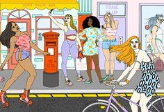 Magnitone London - Laura Callaghan Illustration