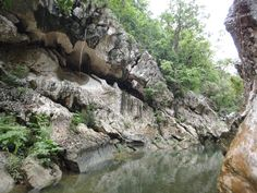 Natural Cave and River in the Sierra Maestra Mountains, Granma, Cuba