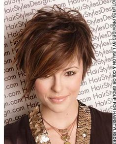 for short hair this is cute!! wish i could pull it off