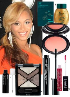 beyonce MTV VMA beauty makeup