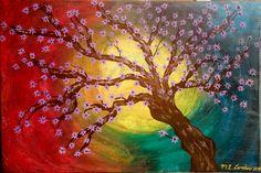 Cherry Blossom Fall