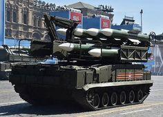 В репетиции парада участвовали танки Т-14 «Армата», самоходные артиллерийские установки «Коалиция-СВ», стратегические ракетные комплексы «Ярс»