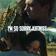 I'm so sorry...