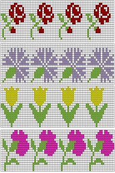 1 million+ Stunning Free Images to Use Anywhere Tiny Cross Stitch, Cross Stitch Bookmarks, Beaded Cross Stitch, Cross Stitch Borders, Crochet Cross, Crochet Chart, Cross Stitch Flowers, Cross Stitch Designs, Cross Stitching