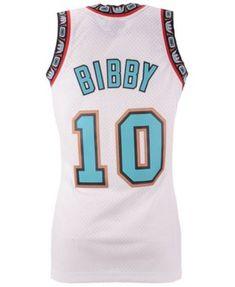afd8c17ea Mitchell   Ness Men Mike Bibby Vancouver Grizzlies Hardwood Classic  Swingman Jersey
