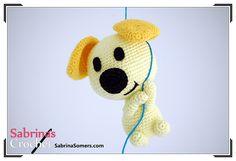 собака амигуруми крючком схема