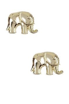 Little Elephant Post Earrings