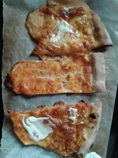 """Pizza sofficini. '3stagioni - my 3 seasons' For lunch. 26.8.'14 (150gr x slice- 3 fette pretaglio) #alone finally! @ athome h1PM -k340 x piece diviso in 3- add topping ↑ """"#mayonnaise #maionese #0 #light & vegetables powder suoi"""" di #Margherita#findus#carletto 1 ideale x2. #390gr#extra#large#tomato + #cheese#red #white #redandwhite#basil IT IT #napoletana similiar ready in8/10 x me""""!. I x pizza; 1000k. 130carb. 30fat. 13protein..  