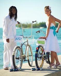 the bikes were a cute idea!