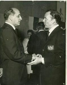 """""""On May Frank Sinatra died. Sinatra was frequently linked to the Mob, and it is believed his career was aided by organized crime. He always denied he had Mob ties but this picture with Sam Giancana shows otherwise. Real Gangster, Mafia Gangster, Albert Anastasia, Joey Bishop, Chicago Outfit, Life Of Crime, Al Capone, The Godfather, Old Hollywood"""