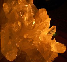Glowing Crystals, Quartz Giant by cobalt123, via Flickr