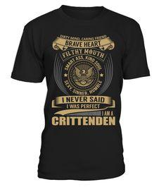 CRITTENDEN - I Nerver Said