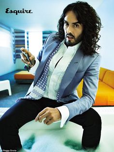 Russell Brand - much more interesting sober, he's become quite the spokesperson for the underserved and yeah, i think he's hot