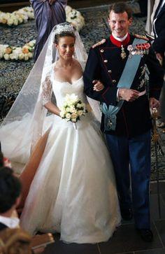 Denmark's Prince Joachim married Marie Cavallier of France in Moegeltoender, Denmark on Saturday May 24, 2008