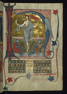 Homilary, The Resurrection, Walters Manuscript W.148, fol. 46r by Walters Art Museum Illuminated Manuscripts, via Flickr