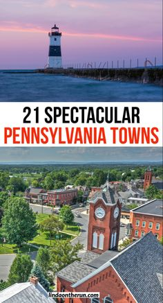 Traveling to Pennsylvania and looking for inspiration? Here you will find 21 spectacular Pennsylvania towns you should explore  PA towns worth your time to visit  Romantic towns in Pennsylvania couples will love #pennsylvania #town #usa #travel