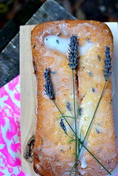 Lavender Lemon Loaf Cake | Spice in the City