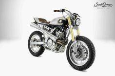 Honda NX650 Dominator 'Kalipso' - South Garage Cafe - Ottonero