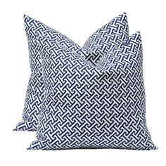 I pinned this Chevron Pillow in Royal Blue (Set of 2) from the Elisabeth Michael event at Joss and Main!