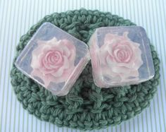 Heart Mini Soap Favors by SoapFavor on Etsy