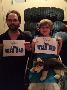 I am a wish dad.  I am a wish kid.  http://www.wish.org  #IAm  #FacesofWishes