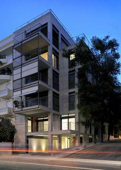 Galería - Edificio de apartamentos en la calle Deinokratous, Atenas / Giorgos Aggelis - 6