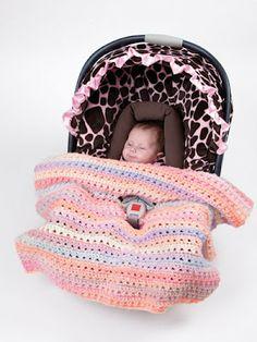 Casa das Linhas Campinas: Manta para Cadeirinha de Bebê