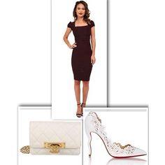 Outfit of the day #ootd #chanel #fashionblog #golden #dress #chocolate #womensfashion #stop #staring #barneys #handbag #newyork #christian #louboutin #shoes #purse #fashion #fashionista #white #whatiworetoday #outfitoftheday #shopping #wishlist #style Feeling generous? paypal.me/hebavsreason Peace And Pistachios, Heba xoxo