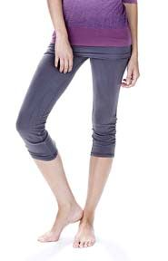 Love these OMgirl Ahimsa Capris!  From Barefoot yoga for $57.60