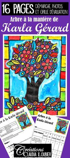Art with Creations Claudia Loubier 30 Day Art Challenge, Karla Gerard, Creative Workshop, Art Lesson Plans, Paint Party, Art Plastique, Elementary Art, Teaching Art, Art Education