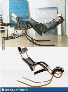 Shut up and take my money chair. Projects to make money Shut up and take my money chair Metal Furniture, Cool Furniture, Furniture Design, Furniture Outlet, Furniture Stores, Unusual Furniture, Furniture Refinishing, Furniture Upholstery, Siege Camping