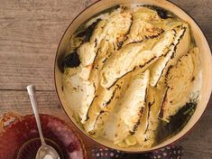 In this buttery, creamy side dish, dry white vermouth and freshly grated horseradish help to make wintry roasted cabbage recipe lively and robust. Creamed Cabbage, Roasted Cabbage, Corn Beef And Cabbage, Cabbage Rolls, Cabbage Recipes, Cabbage Patch, Horseradish Recipes, Horseradish Cream, Fennel Recipes