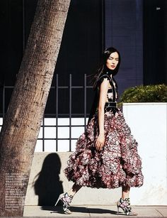In bloom (Vogue China)