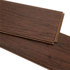 Home Legend Wire Brushed Benson Hickory 3/8 in. T x 5 in. W x 47-1/4 in. Length Click Lock Hardwood Flooring (19.686 sq. ft. / case)-HL194H - The Home Depot