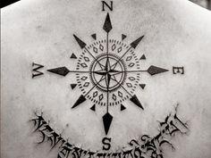 rose compass tattoo meaning - Pesquisa do Google