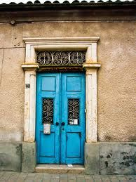 What is it about colour on a door???  I don't know but for me it just works.