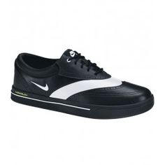 NIKE LUNAR SWINGTIP GOLF SHOE BLACK/WHITE - SS13 $119.00