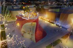 Expo 2015: Vanke Pavilion - Daniel Libeskind