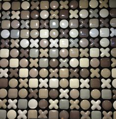 Tagina Handmade tiles can be colour coordinated and customized re. shape, texture, pattern, etc. by ceramic design studios