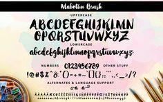 Mabotim Brush by Creativelafont | GraphicRiver