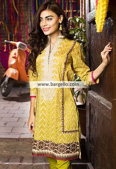 WL9178 Lawn Suits Summer Season Khaadi Lawn Eid Collection 2015 - UK USA Canada Australia Saudi Arabia Bahrain Kuwait Norway Sweden New Zealand Austria Switzerland Germany Denmark France Ireland Mauritius and Netherlands