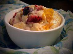Berry berry mango muffins