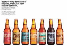 """Bottled Beer: """"LABELS"""" Design & Branding  by LIPLTDA"""