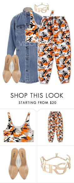 """""""Untitled #868"""" by visionsbykay on Polyvore featuring adidas Originals and Versace"""